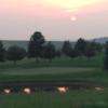 A sunset view from Kentucky Hills Golf Course