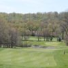 A view of a fairway at Spring Valley Golf Club