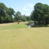 A view of the 9th hole at Brick Landing Plantation