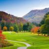 A view of a tee at Maggie Valley Resort & Country Club