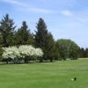 A spring view from a tee at Reid Golf Course