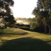 A morning view on the 1st tee from River Course at Alisal