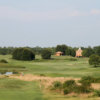 A view of the 3rd fairway at Orchard from Orchard Hills Golf Course