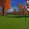A view from a green at Fowler's Mill Golf Course