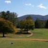 A sunny day view from Chatuge Shores Golf Course
