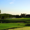 A view of a hole at Swiss Fairways Golf Course