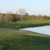 A view of the 13th hole with water coming into play at Northern Kentucky Golf Club