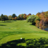 A view from tee #1 at Rustic Hills Country Club