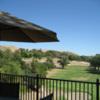 A view from the terrace at Pinnacle Hills Golf Course (Dan Neff & John Freiermuth)