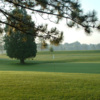 A view of a hole at Cambridge Golf Club