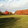 Autumn view at Maxwelton Braes Golf Course