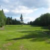A view from a tee at Waskesiu Golf Course