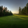 A view of a hole at Pine Hills Golf Club