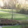 A view of a green at Skeena Valley Golf and Country Club