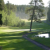 A view of a green at The Lodge Golf Course