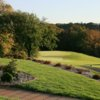 A fall view of a green at Baraboo Country Club