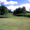 A view of the 9th green at Luck Golf Course