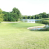 A view of a green at Eagle's Bluff Golf Course