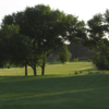 A sunny day view from Meadow Creek Golf Course