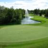 A view of a green at Teulon Golf and Country Club