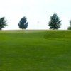 A view of a green at Aspen Ridge Golf Course