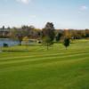 A view of a fairway at Auburn Bluffs Golf Club