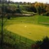 A view of a hole at Auburn Bluffs Golf Club