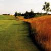 A view of tee #9 at Black Diamond Golf Club