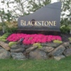 The entrance sign at Blackstone Golf Club