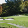 View of the 9th green at Hawthorne Valley Golf Club