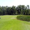 A view from a tee at Lake of the Sandhills Golf Club