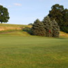 View of the 8th green at Indian Springs Golf Club
