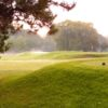A view from a tee at Burlington Springs Golf Club