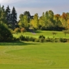 View of a green and fairway at Inkster Valley Golf Club