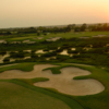 View of a bunkered green at BlackHorse Golf Club