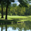View of the par-3 8th hole at Crescent Farms Golf Course