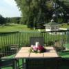 A view from a terrace at Brockville Country Club