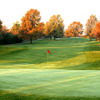Autumn view of a green at Valle Vista Country Club