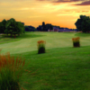 Sunset view from Far Oaks Golf Club