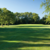View of a green from a fairway at Coachman's Golf Resort