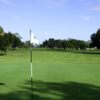 A view of a hole at Mayfair Country Club