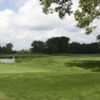 View of a green at Hawk Hollow Golf Course