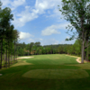 A view from a tee at Lonnie Poole Golf Course