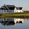 View of the clubhouse at Royal Manchester Golf Links