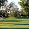 A view of the 15th green at Apple Valley Golf Course