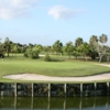 View of the 1st hole from the Eagle course at Okeeheelee Golf Course