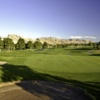 Looking back from the 10th green at Palm Valley Course at Golf Summerlin