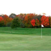 A fall view of a green at Edgewood Park Golf Club