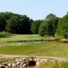 A view of a tee at Rawiga Golf & Swim Club