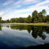 View of the water from the 17th and 18th hole at the Golf Club of South Carolina at Crickentree